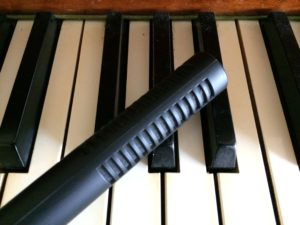 piano and mic