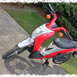 RED e-Scooter